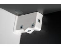 Obývacia stena Clif - grafit / biela