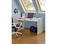 Detský písací stolík Eskimo B-1 - biela / biely lesk