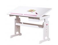 Detský písací stôl Baru - biela