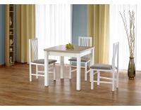 Rozkladací jedálenský stôl Gracjan - dub sonoma / biela