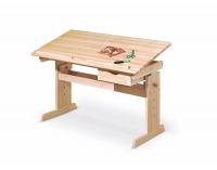 Detský písací stôl Julia - borovica