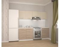 Kuchyňa Katia 220 - béžová / dub san marino / biela