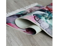 Koberec Delila 180x270 cm - ružová / zelená / krémová