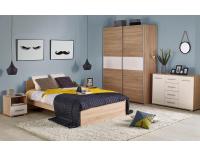 Jednolôžková posteľ Lima 120 - dub sonoma