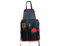 Grilovacie náradie AE165 - čierna / červená