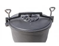 Kotlík na guláš MIR-K4L - čierna