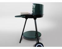 Záhradný gril MIR-277 - čierna / zelená