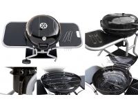 Záhradný gril MIR-571 - čierna