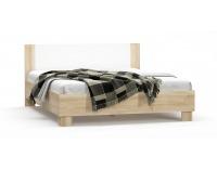 Manželská posteľ s roštom Markos 160 - dub sonoma / biela