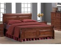 Rustikálna manželská posteľ s roštom Boston 160 - čerešna antická