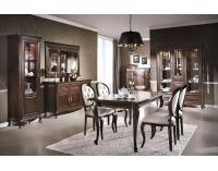 Rustikálna obývacia izba Verona - hnedá