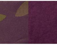 Rozkladacia pohovka s úložným priestorom Wanted - šenil fialový (Faro 07) / vzor Nina