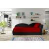 Rozkladacia pohovka Arco P - červená / čierna