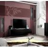 TV stolík Fly ZZ - čierna / čierny vysoký lesk