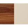Lavica do kuchyne Bond BON-01 - slivka wallis / béžová ekokoža